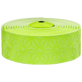 Supacaz Super Sticky Kush Starfade Handlebar Tape neon yellow